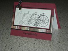 Old Fashioned Bicycle Birthday