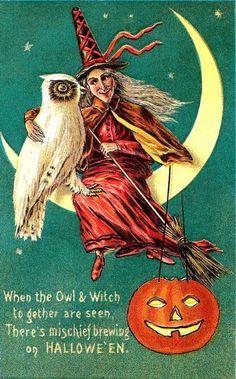1911 Halloween Card (Series 876/1)