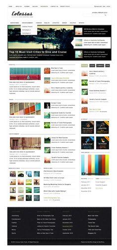 Free: Colossus WordPress Theme