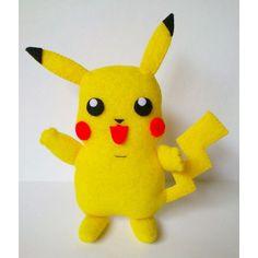 Pica...pica...chu...chu....  #yellow #picachu #pokemon #picaTOP #TOP #felt #cartoon #anime
