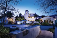 The spa at the ojai valley inn and spa, where I used to work :)  THE most relaxing place ever. I LOVE this place
