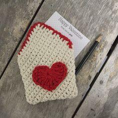 Gratis Häkelanleitung für Valentinstags Geschenk