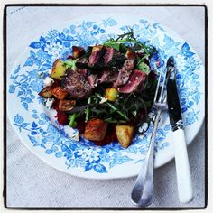 For a luxurious starter, try my Warm Pigeon Breast Salad recipe - you might want to serve a smaller portion (half it!).