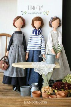 Doll Crafts, Diy Doll, Doll Clothes Patterns, Doll Patterns, Fabric Toys, Sewing Dolls, New Dolls, Doll Maker, Waldorf Dolls