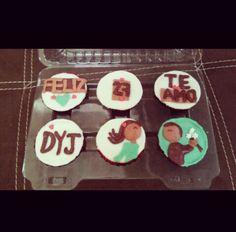 #deliquequis #cupcakes #fondant #rico #postre #cake #deliquequis #love