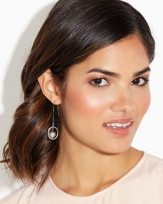Snazzy Sandblast Earrings | Fashion Jewelry | charming charlie