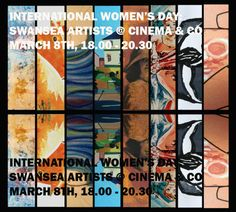 In Swansea there will be an exhibition of Swansea-based female artists' work at Cinema & Co. It will run from March to There is an opening event on Thursday March 6 pm to pm. Swansea, Ladies Day, Cinema, Artist, Blogging, March, Posts, Group, Board