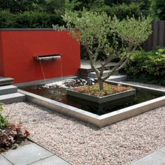05 awesome backyard ponds and water garden landscaping ideas Contemporary Stairs, Rustic Contemporary, Contemporary Landscape, Contemporary Wallpaper, Contemporary Building, Contemporary Apartment, Contemporary Chandelier, Contemporary Office, Contemporary Architecture