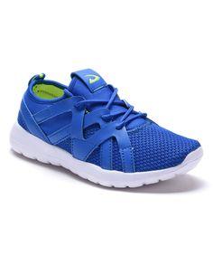 Blue Mesh Sneaker