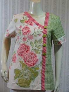 modern cheongsam dress #batik
