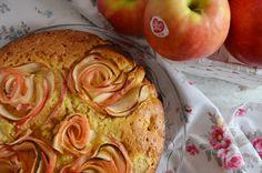 Torta Soffice Di Rose Di Mele