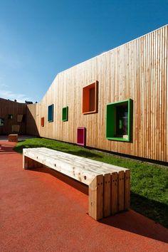 Galería - Nuevo edificio educación infantil y guardería en Zaldibar / Hiribarren-Gonzalez + Estudio Urgari - 3