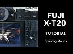 Fuji X T-20 X-T2 Shooting Modes Tutorial - YouTube