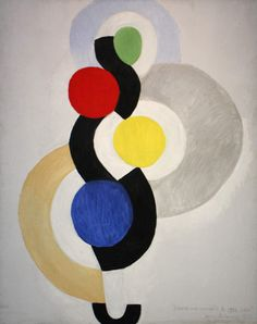 """Rythme sans fin, danse"", 1964 de Sonia Delaunay Sonia Delaunay, Robert Delaunay, Inspirational Artwork, Bauhaus, Illustrations, Illustration Art, Textiles, Art Moderne, Art Abstrait"