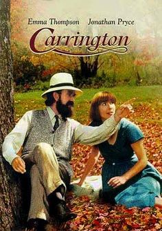 Carrington (1995) In this absorbingly nuanced character study, talented young painter Dora Carrington forges a deep, complex bond with shy homosexual writer Lytton Strachey across the backdrop of the bohemian scene of London's Bloomsbury group.