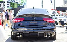 Dark Vader Audi S4 B8.5 with Armytrix F1 Edition Catback Valvetronic Exhaust