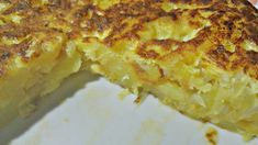 The real Spanish tortilla! Veggie Omelette, Mexican Food Recipes, Vegetarian Recipes, Cooking Recipes, Ethnic Recipes, Hawaiian Recipes, New Orleans Recipes, Go Veggie, Food Cakes