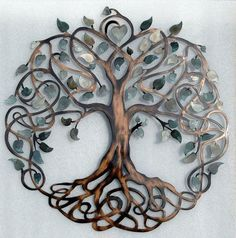 "Outstanding ""metal tree art decor"" info is offered on our site. Read more and you wont be sorry you did. Metal Tree Wall Art, Metal Art, Gray Tree, Frida Art, Painting Shower, Tree Artwork, Unique Home Decor, Metal Walls, Art Projects"