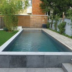 Remodeling your swimming pool can make a dramatic difference to the look and feel of your home and yard. There are lots of ways to renovate, remodel and re-create your backyard swimming pool, from simple additions to a more elaborate… Continue Reading → Backyard Pool Designs, Small Backyard Pools, Small Pools, Swimming Pools Backyard, Swimming Pool Designs, Pool Landscaping, Above Ground Swimming Pools, In Ground Pools, Semi Above Ground Pool