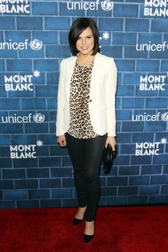 Lana Parrilla love the outfit and actress