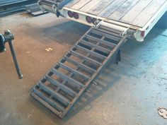New trailer ramps fabricated august 2013