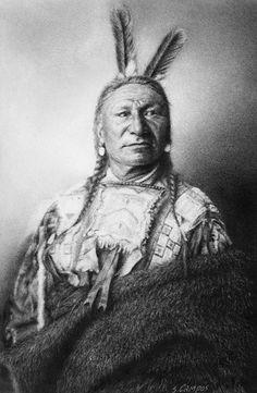 "Yanktonai Sioux. Western Dakota,1908. Image size: 12 x 8"""