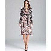 DIANE von FURSTENBERG Wrap Dress - Freddie Snake Print #fw13