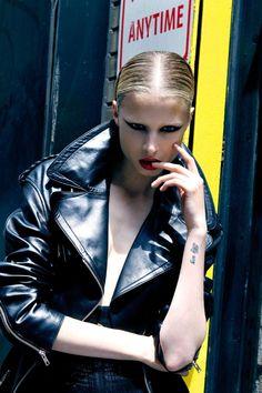 Rockstar Biker Fashion : Fashion Gone Rogue 'New York State of Mind'