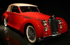 1947 Talbot-Lago Cabriolet Maintenance/restoration of old/vintage vehicles: the material for new cogs/casters/gears/pads could be cast polyamide which I (Cast polyamide) can produce. My contact: tatjana.alic@windowslive.com