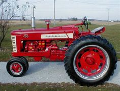 Farmall 450 Diesel Except I want my wheel weights white and a polished stainless muffler! :)