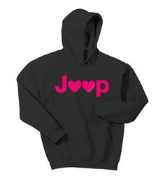 All Things Jeep - Jeep Hearts Youth Hooded Sweatshirt