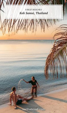 Find the best beaches on Koh Samui island in Thailand with lots of travel photos and recommendations on where to stay. Thailand Travel Guide, Asia Travel, Visit Thailand, Beach Travel, Pretty Beach, Beach Look, Bora Bora, Honey Moon, Lanai Island