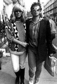 Patti Hansen and Keith Richards - Photo: Rex USA