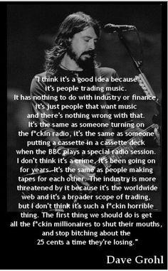 David Grohl preach!!!