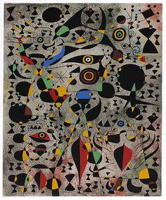 Joan Miro, ( date original gouache painted ) colour lithograph on Arches wove paper x cm Art Institutes, Miro Paintings, Principles Of Art, Watercolor And Ink, Art, Art Institute Of Chicago, Lithograph, Art Pictures, Art History