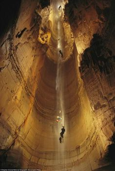 The Krubera Cave (or the Voronya Cave sometimes spelled Voronja Cave) is the deepest known cave on Earth. It is located in the Arabika Massif of the Gagrinsky Range of the Western Caucasus, in the Gagra district of Abkhazia, Georgia's breakaway republic.