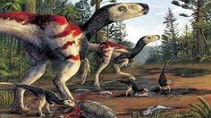 BioOrbis: Os dinossauros Austrálianos são ilustrados pela pr...