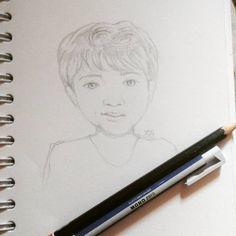 Quick Sketch, Muhammad, Creatures, Handsome, Illustrations, Art Prints, Instagram Posts, Design, Art Impressions