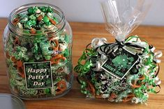 Green Popcorn & Pretzel Party Mix, St. Patricks Day Fun Foods & Creative Cuisine (includes directions)