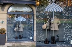 Our Autumn showcase. Miss Valentina children's and youth fashion store. We are in Las Arenas (Getxo-Vizcaya) and in www.es - New Deko Sites Visual Display, Display Design, Store Design, Spring Window Display, Store Window Displays, Autumn Window Display Retail, Retail Displays, Deco Cafe, Vitrine Design