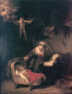 The Holy Family  Artist: Rembrandt