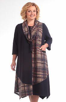 Платья для полных женщин: купить женские платья больших размеров в интернет магазине «L'Marka»