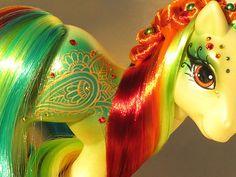 My Little Pony Custom Henna Pony Choose Your Own Henna Pony G1 G3 G4   eBay