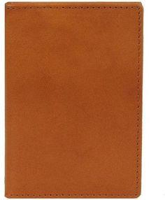 Wilsons Leather Mens Front Pocket Leather Bi-Fold W/ Rfid Blocking