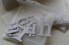store your chipboard letters in 6x6 plastic storage envies