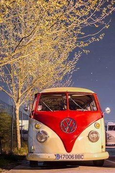 It's a BBC VW Camper Van!! Who knew!