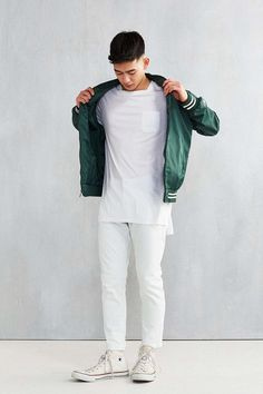 The Narrows Square Neck Pocket Tee - Urban Outfitters