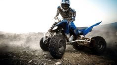 something I love to do is ride quads. I have always found it so fun, im ready to go wherever and whenever got my monster jersey ready :) haha hell yes!!