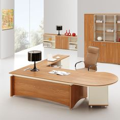 office wooden table. Competitive Price Import Office Furniture Modern Manager Wood Curved Desk Wooden Table