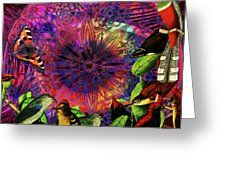 Guys Time Out.. Fly With Renewable Energies Greeting Card by Joseph Mosley